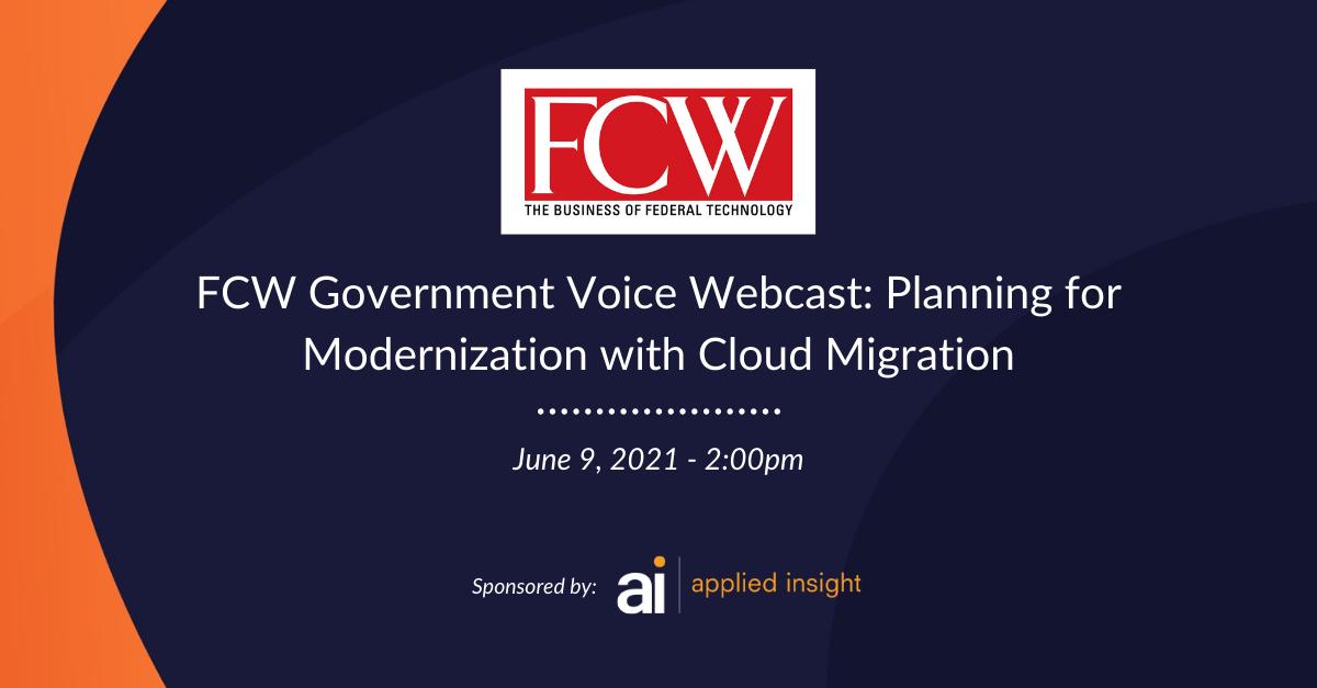 Webcast on June 9: Planning for Modernization with Cloud Migration