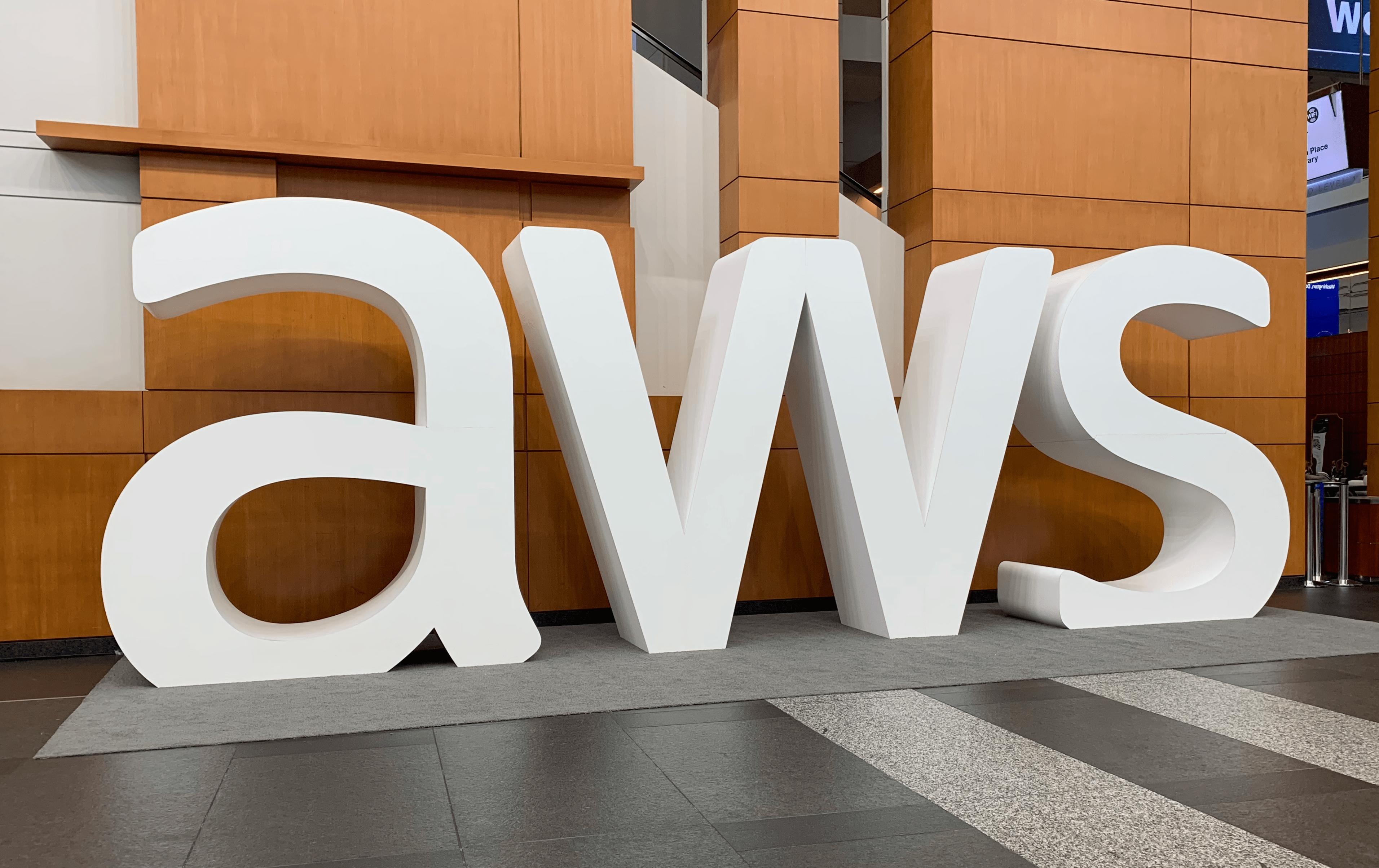 AWS logo at DC Summit